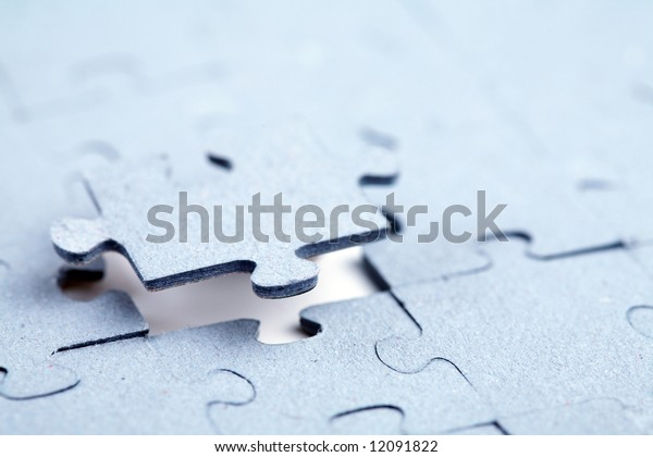 The final piece of jigsaw puzzle