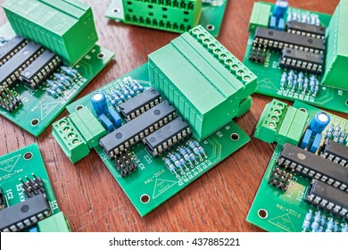 final step in product development; several pcb ready to be connected to raspberry pi and run;