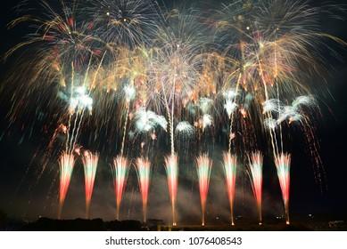 Finale of Fireworks Festival