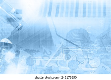 Finance abstract background