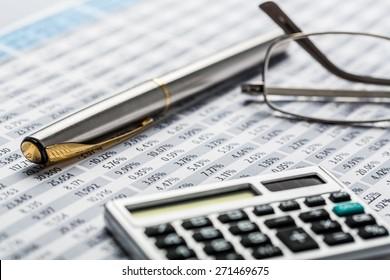 Finance, Calculator, Work Tool.