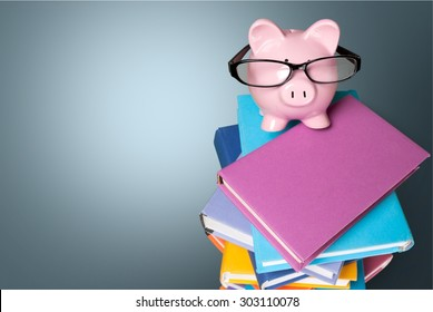 Finance, Piggy Bank, Education.