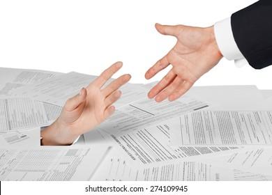 Finance, Tax, Paperwork.