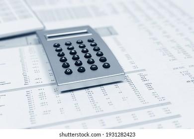 Finanzrechner in den Bilanzen