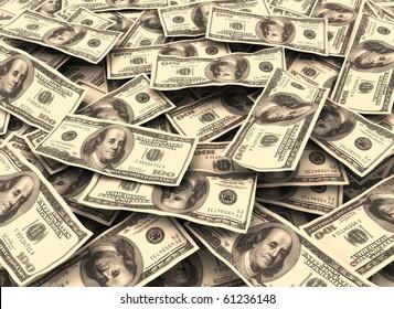 Financial background money illustration