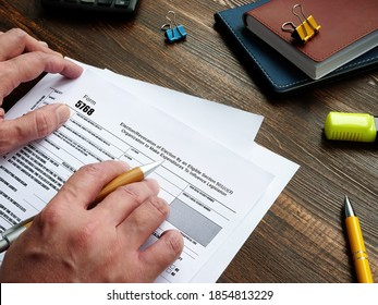 Financial concept about Form 5768 Election/Revocation of Election By an Eligible Section 501(c)(3) Organization to Make Expenditures To Influence Legislation with sign on the piece of paper.