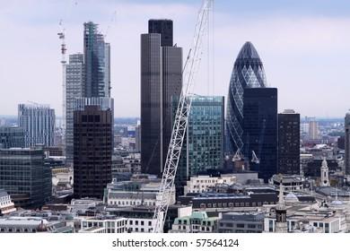 Financial District. London