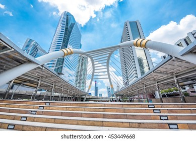 Financial district office buildings in bangkok,Bangkok Down Town thailand