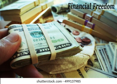Financial Freedom Stock Photo