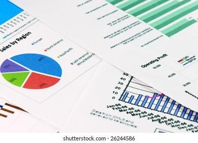 financial graph backgrounds