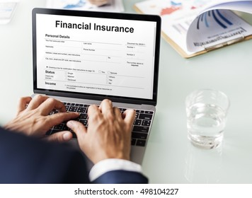 Financial Insurance Loan Banking Credit Debt Concept