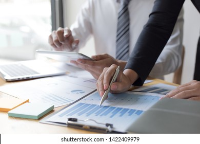 Financial and investment planning, Head of Marketing is analyzing data from the summary graph statistics for executives, business meetings.