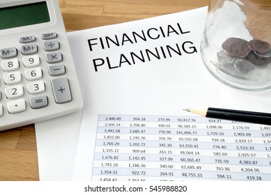 Financial planning with spreadsheet and calculator