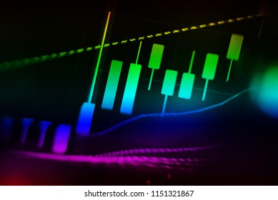 "FINANCIAL SERVICE concept as concept. The charts and summary number shows about ""Business statistics and Analytics value"" for many market as Forex, Commodities, Equities, Fixed Income Markets."