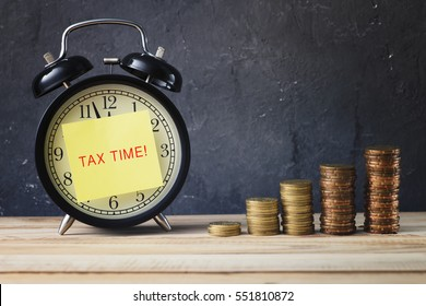 Financial Wealth Concept-Tax time