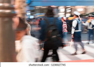 Finding Waldo in Shibuya Crossing
