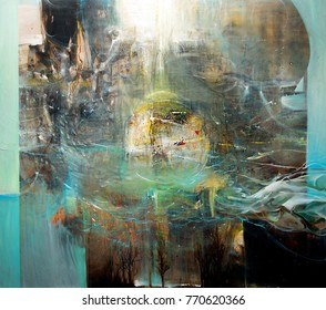 Fine Art painting -background