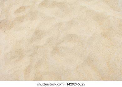 Fine Beach Sand Texture In Sommer Sun.