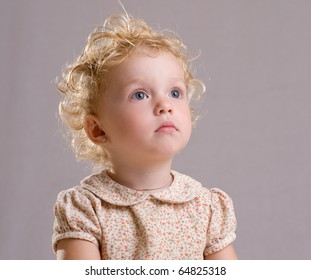 Curly Hair Child Images Stock Photos Vectors Shutterstock