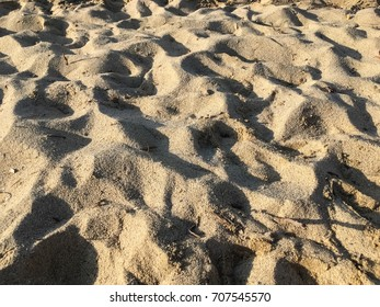 Fine Sand on a Greek island's beach