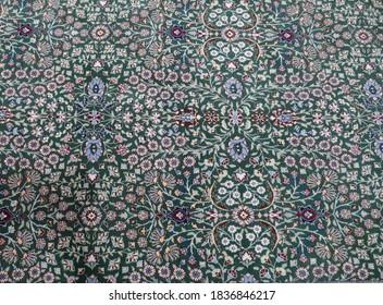 Fine Turkish carpets  rugs  in a  showroom in  Cappadocia, Turkey !Not an illustration!