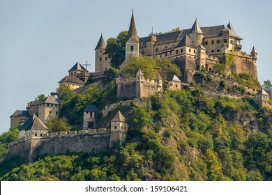 Fine view of Hochosterwitz Castle, one of Austria's most impressive medieval castles dating back to the 9th centtury and being one of the landmarks of Carinthia.