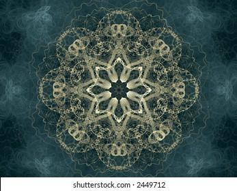finely detailed kaleidoscope