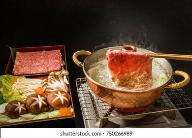 The finest Japanese beef dish (Shabu-shabu hotpot)