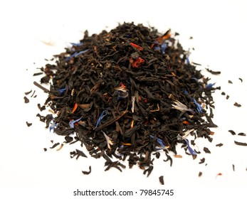 Finest quality black tea with summer fruits