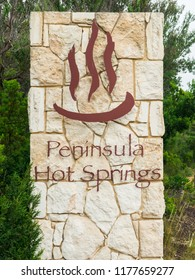 Fingal, Australia - November 27, 2016: Peninsula Hot Springs is a spa resort in Fingal on the Mornington Peninsula. They are the first natural hot springs in Victoria.