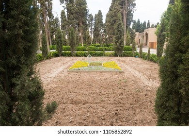 Fingarden in Kashan. Fin garden is a historical Persian garden, one of the most famous royal gardens of the country and the place where Amir Kabir was murdered.