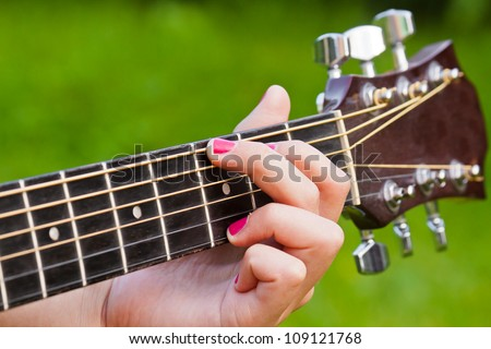 Finger Position G Major Guitar Chord Stock Photo (Edit Now ...