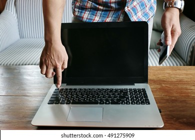 finger press shut down button , laptop energy savings