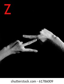 "Finger Spelling the Alphabet - Letter ""Z"""
