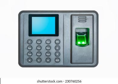 Attendance Machine Images, Stock Photos & Vectors | Shutterstock