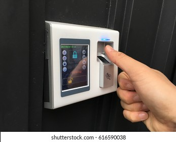 Fingerprint scanner - Security system