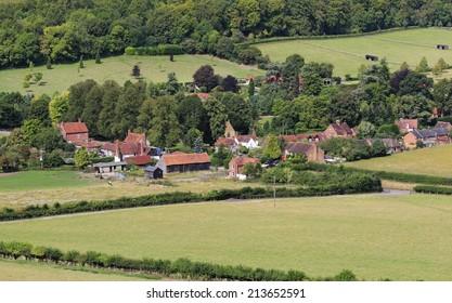 Fingest village in the Chiltern Hills of Buckinghamshire