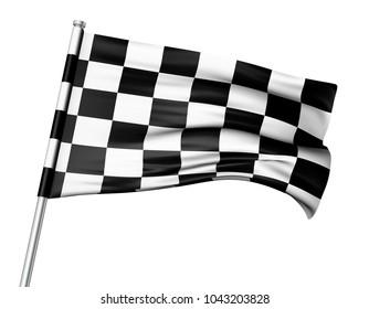 finish flag background