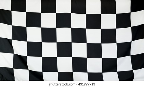 Finish Race Flag real fabric seamless close up