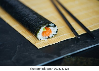 Finished Sushi Roll