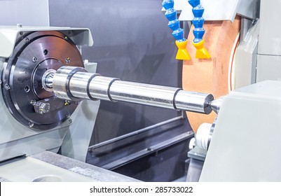 Finishing metal working on high precision grinding machine
