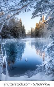 Kiikunlähde, Finland