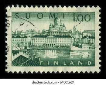 Stamp Finland Images, Stock Photos & Vectors | Shutterstock