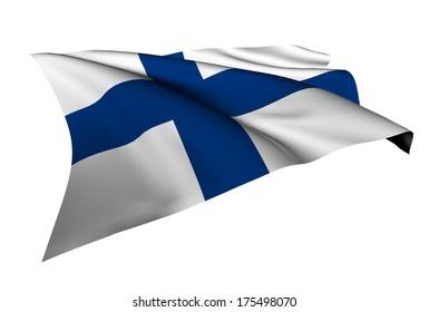 Finland flag - collection no_5