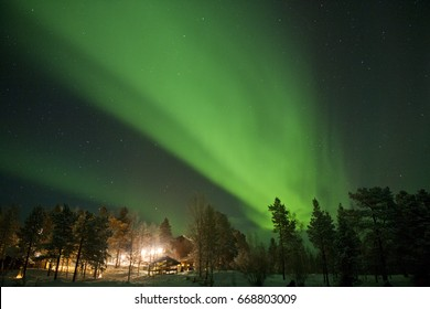 Finland - Inari - Arora Boralis - northern Lights