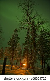 Finland - Inari - Arora Boralis - northern Lights