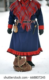 Finland - Inari - Traditional sami dress