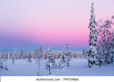 Finland Lapland Ruka - Shutterstock ID 794759866