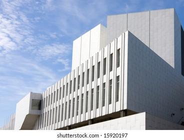 Finlandia Concert Hall by Alvar Aalto, Helsinki, Finland