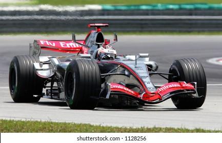 Finland's Formula One driver Kimi Raikonnen of Team McLaren Mercedes, 2006